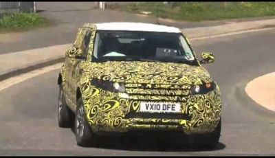 Land Rover Evoque 5 porte spy