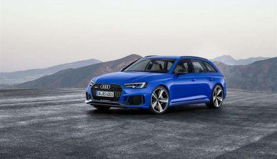 Nuova Audi RS 4 Avant 2018