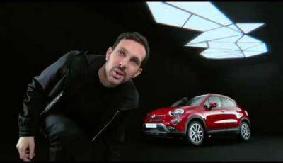 Fiat 500X, il nuovo testimonial è l'illusionista Dynamo
