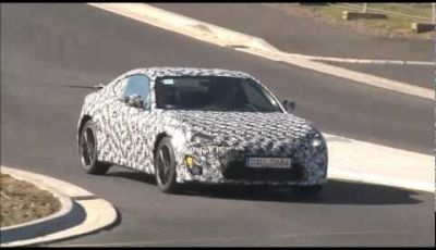 Toyota FT-86 test al Nürburgring