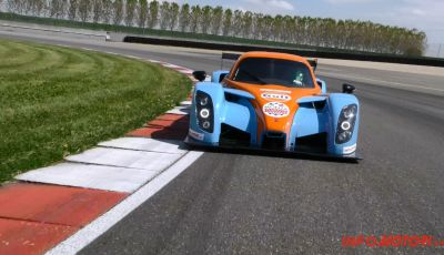 Radical RXC Turbo 500: prova in pista