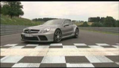 Video Mercedes SL65 AMG Black Series