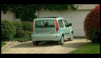 Video Renault Kangoo Be Bop ZE