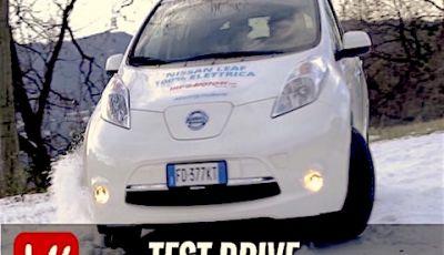 Nissan Leaf: la nostra prova su strada 100% Elettrica