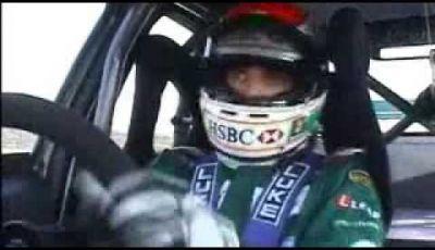 Video Jaguar X Type Racing