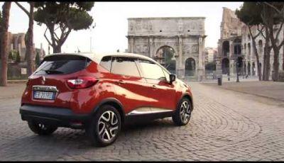 Renault Captur per le strade di Roma