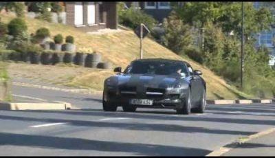 Mercedes Benz SLS AMG Cabrio spy