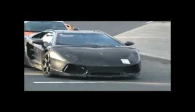 Lamborghini Jota spy video