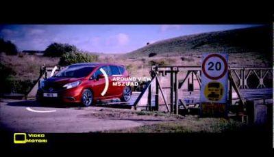 Nuova Nissan Note e gli innovativi sistemi di sicurezza