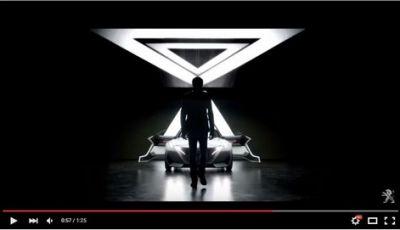 Peugeot Fractal, incredibile concept