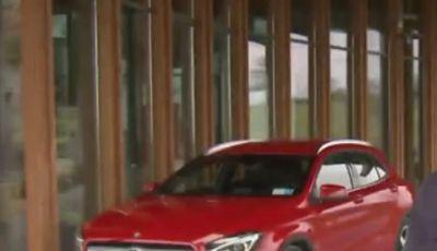 Nuova Mercedes GLA  il crossover della casa tedesca