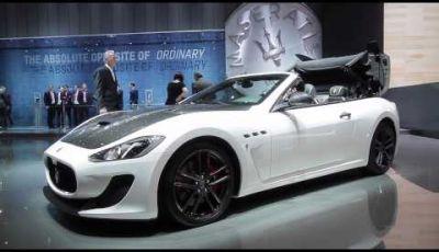 Stand Maserati al Salone di Ginevra 2015