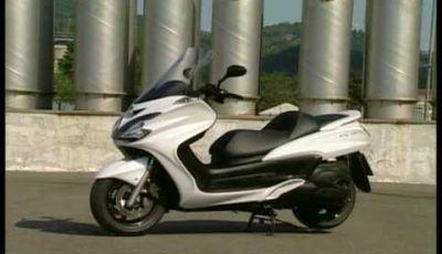 Video Yamaha Majesty 400