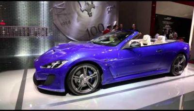 Maserati al Salone di Parigi 2014