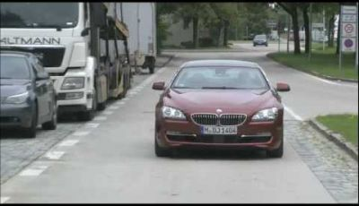 BMW Serie 6 Gran Coupé video spia