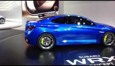Nuova Subaru Impreza WRX al Salone di Francoforte 2013