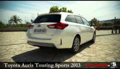 Toyota Auris Touring Sports 2013  Prova su strada a Palma di Maiorca