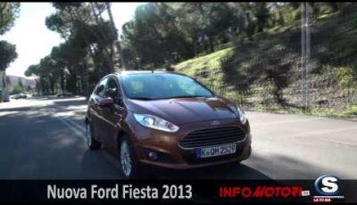 Nuova Ford Fiesta 2013