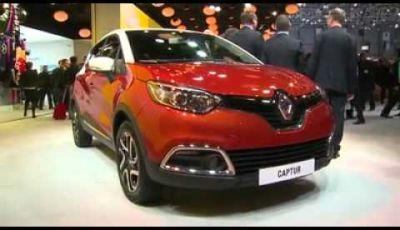 Renault Captur – Salone di Ginevra 2013