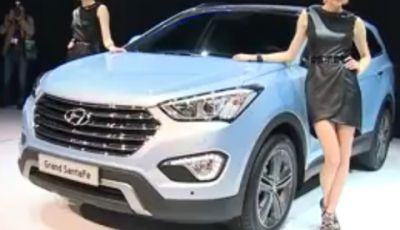 Hyundai Grand Santa Fe – Salone di Ginevra 2013