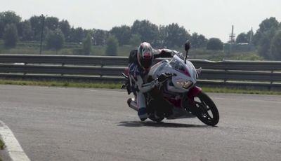 Honda CBR 300R: Test ride in pista a Franciacorta