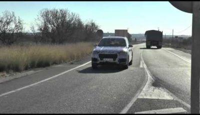 Audi Q7 video spia