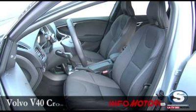 Volvo V40 Cross Country, prova su strada