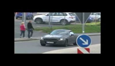 Mercedes Benz SLK spy video II