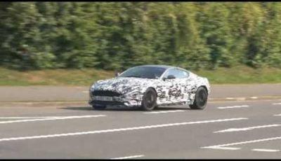 Aston Martin DB9 video spia