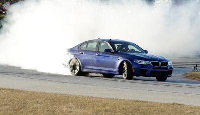 La BMW M5 nel Guinness World Record per il Drifting più lungo al mondo