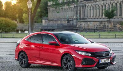 Nuova Honda Civic 2018 con motore Diesel i-DTEC