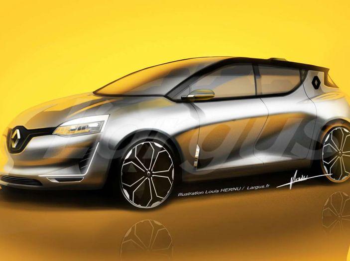La Futura Renault Clio 2019 Avra Guida Autonoma E Sara Ibrida