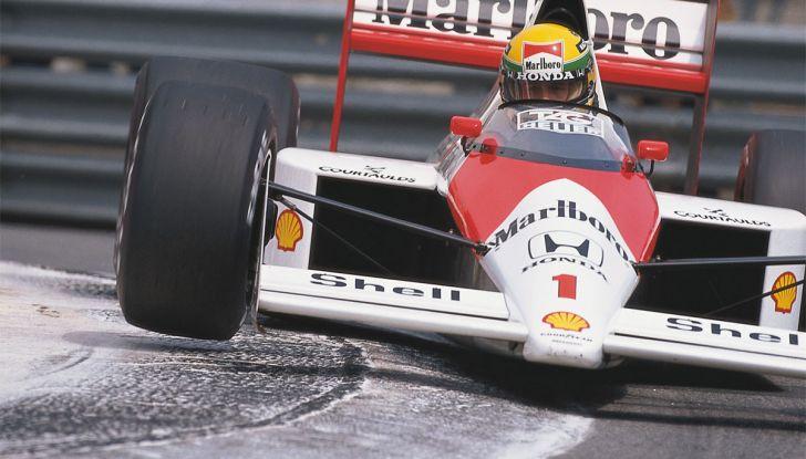 All'asta la McLaren con cui Ayrton Senna vinse a Monaco nel 1993 - Foto 1 di 8