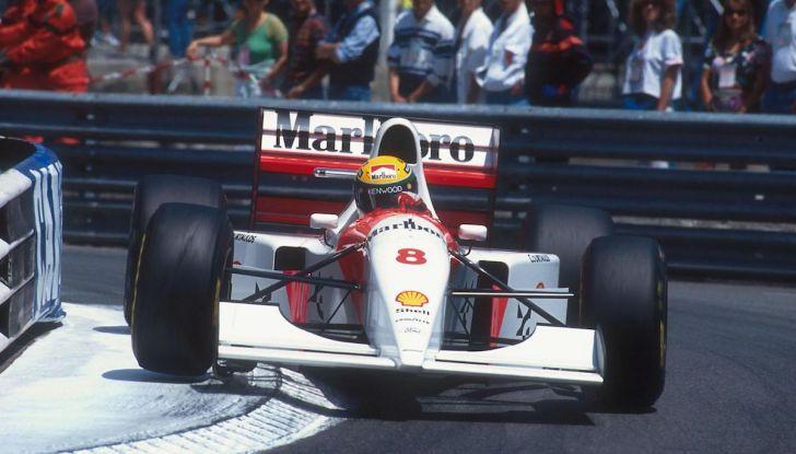 All'asta la McLaren con cui Ayrton Senna vinse a Monaco nel 1993 - Foto 2 di 8