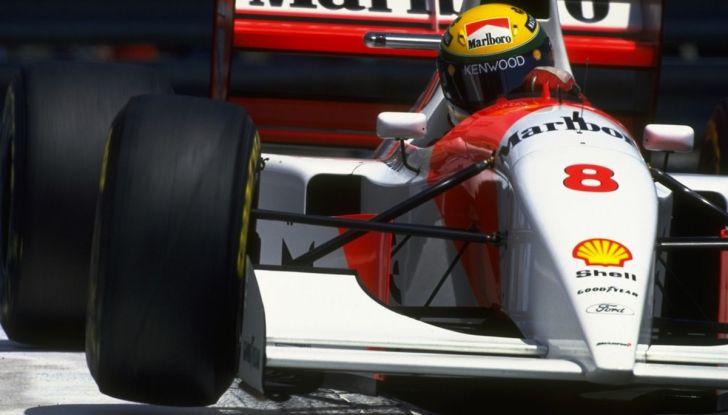 All'asta la McLaren con cui Ayrton Senna vinse a Monaco nel 1993 - Foto 4 di 8