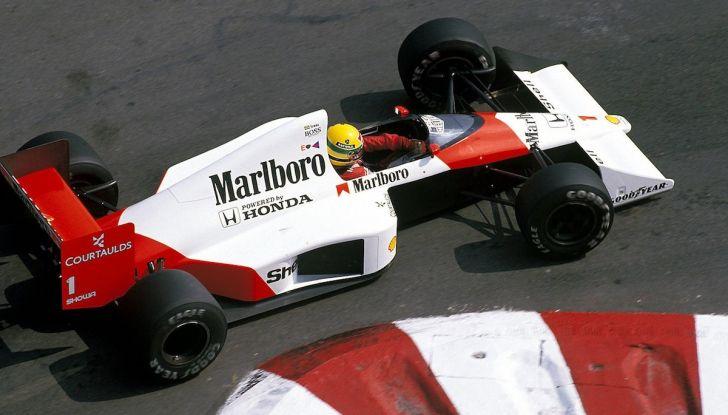 All'asta la McLaren con cui Ayrton Senna vinse a Monaco nel 1993 - Foto 8 di 8