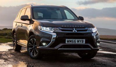 SUV, Mitsubishi Outlander PHEV festeggia 100.000 clienti in Europa
