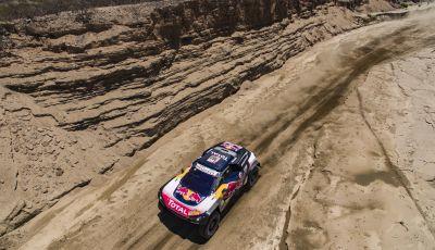 Oggi tappa infuocata per le Peugeot 3008 DKR