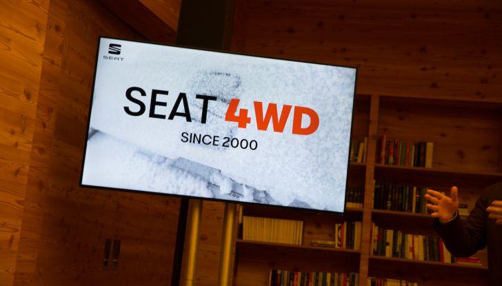 SEAT e la trazione integrale 4Drive, prova e recensione sulla neve - Foto 21 di 62