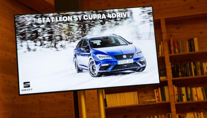 SEAT e la trazione integrale 4Drive, prova e recensione sulla neve - Foto 23 di 62