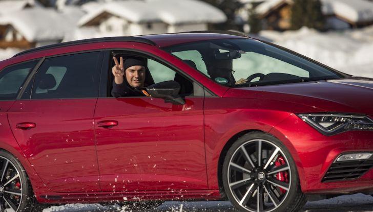 SEAT e la trazione integrale 4Drive, prova e recensione sulla neve - Foto 10 di 62