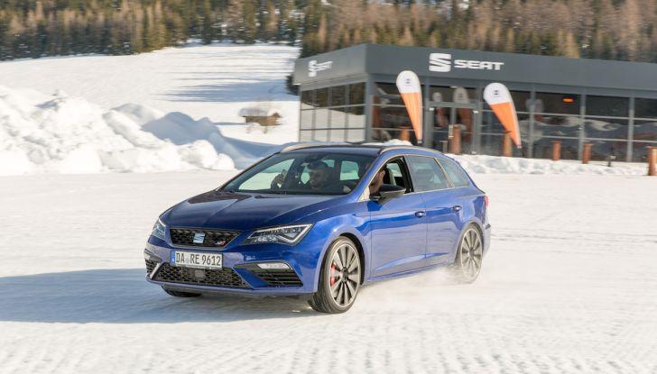 SEAT e la trazione integrale 4Drive, prova e recensione sulla neve - Foto 51 di 62