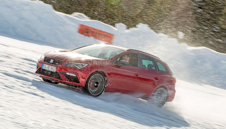 SEAT e la trazione integrale 4Drive, prova e recensione sulla neve - Foto 1 di 62