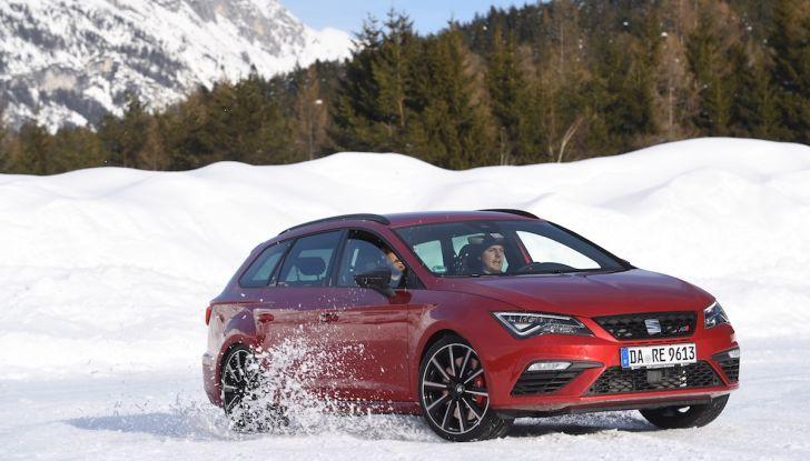 SEAT e la trazione integrale 4Drive, prova e recensione sulla neve - Foto 60 di 62