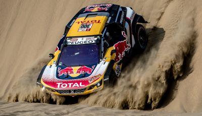 Dakar 2018 – Le Peugeot 3008DKR Maxi arrivano in gruppo alla fine della terza tappa