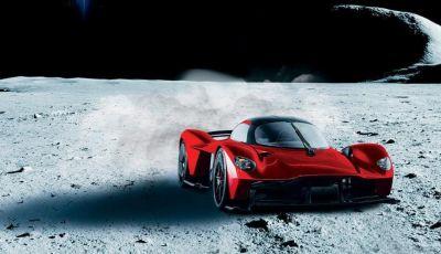 Aston Martin Valkyrie con vernice fatta di polvere lunare!