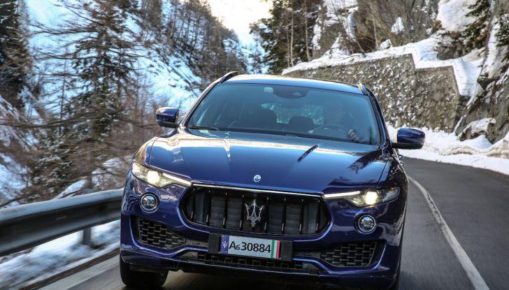 Maserati Levante GranSport 2018, prova su strada del Q4 Diesel: SUV da 275CV - Foto 43 di 46