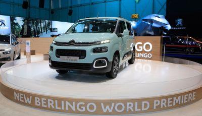 Citroën Berlingo 2018, ecco la terza generazione nel segno di design e praticità