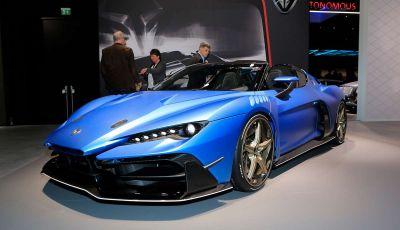 Italdesign ZeroUno Duerta, la Targa V10 da 2 milioni di euro