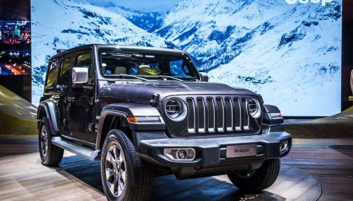 Nuovo Jeep Wrangler 2018, l'icona offroad cambia pelle - Foto 5 di 12